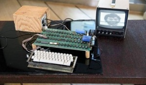Apple-1 Computer Auctioned by Bonham's